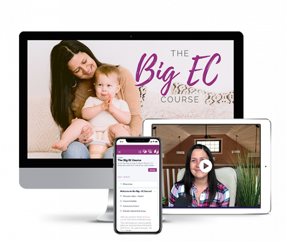 A step-by-step journey to diaper freedom for those who want an EC immersion with Andrea