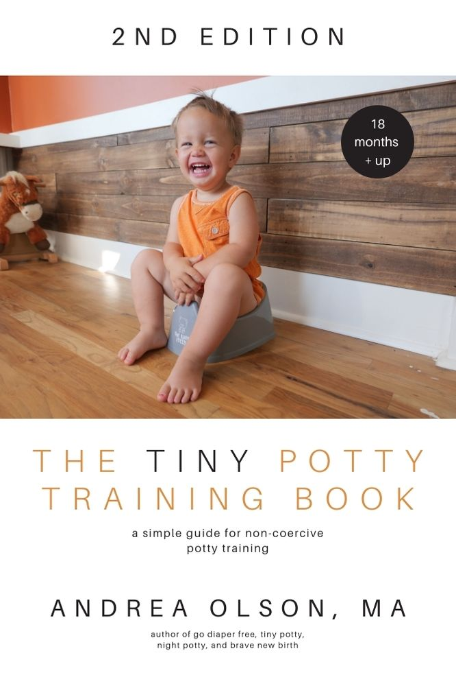 TINY POTTY TRAINING BOOK 2nd edition cover