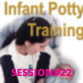 Infant Potty Training Session #22