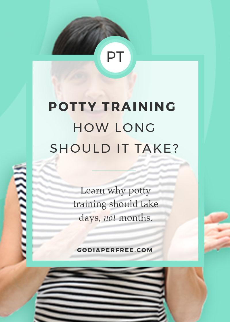 How Long Should Potty Training Take