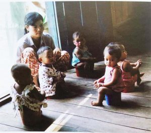 Infant Potty Training in Indigenous Asia How people potty their babies in countries without diapers Part 2