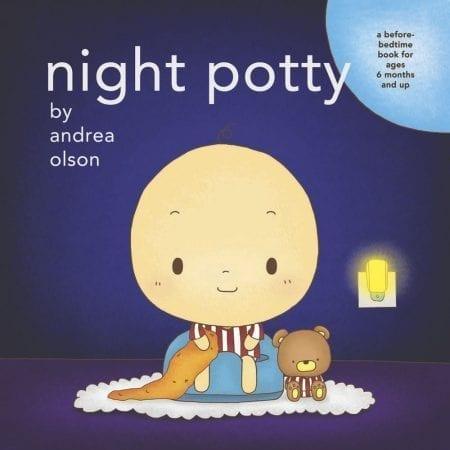 Night Potty board book cover
