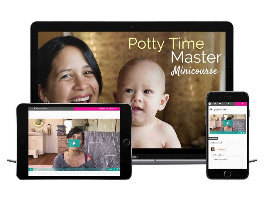 Potty Time Mastery + About MiniCourse