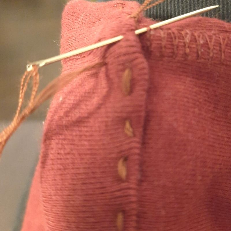 Tie off your thread