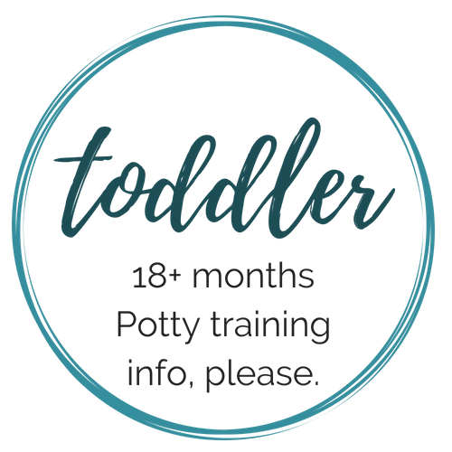 Toddler 18 months and up - potty training