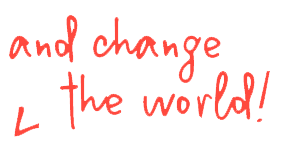 and change the world image