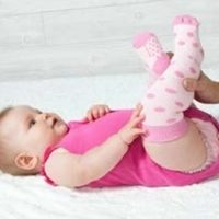 Rock-a-Thigh Baby Socks
