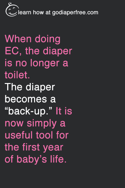 diaper toilet to back-up
