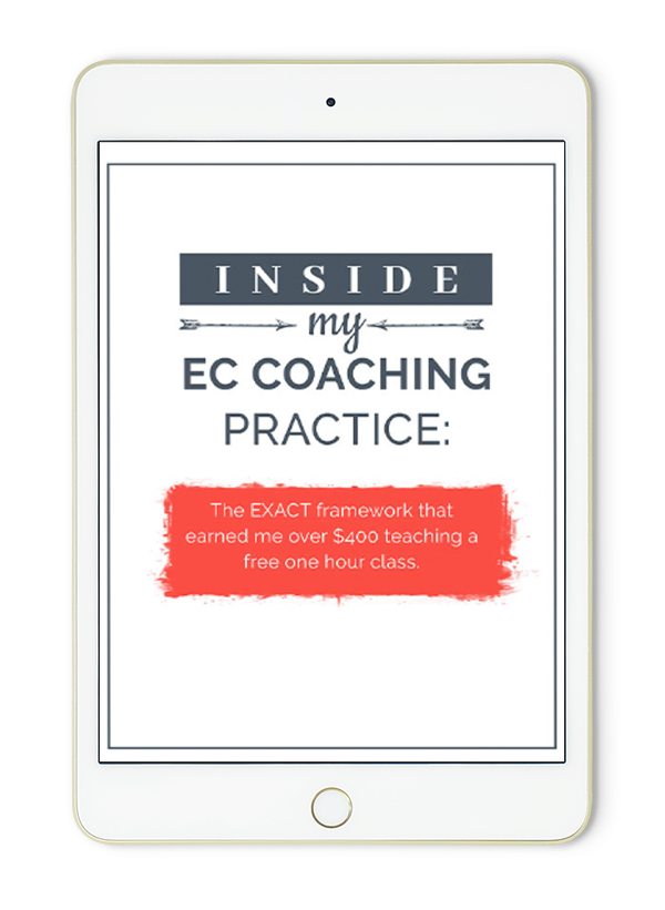 inside my EC coaching practice - fast-action bonus