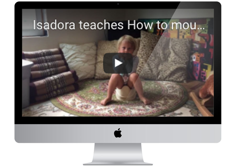 isadora teaches video series