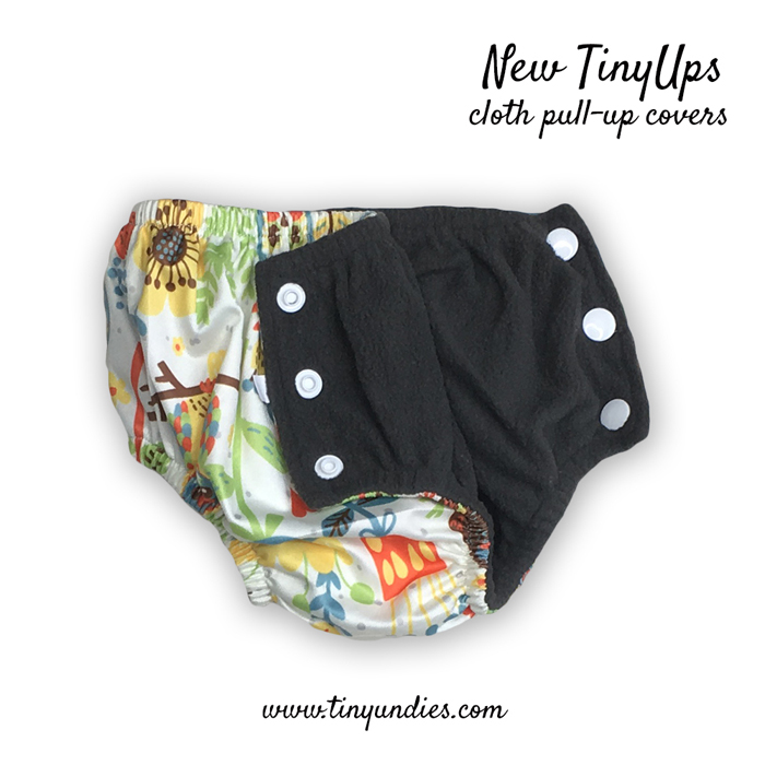 new tinyups cloth pull up covers