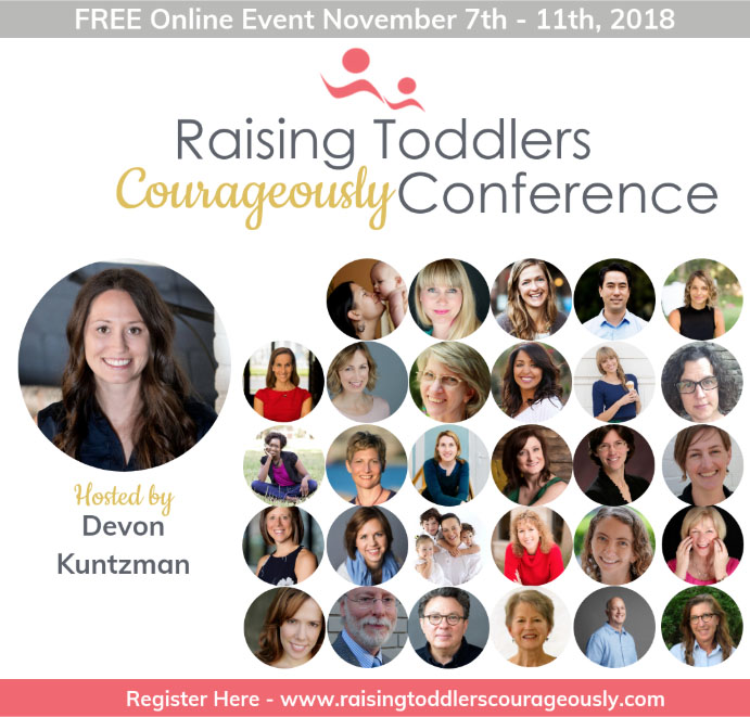 raising toddlers courageously conference nov 7-11 2018