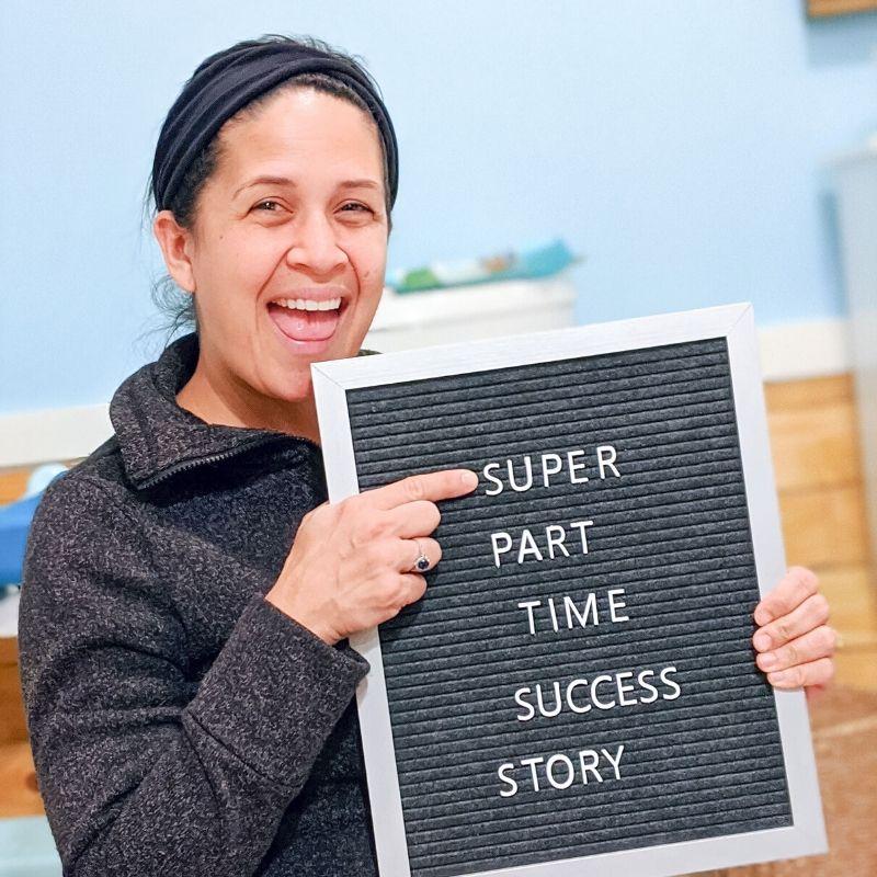 super part time elimination communication success story