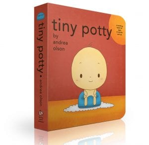 tiny potty board book only