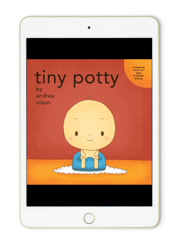 tiny potty digital book