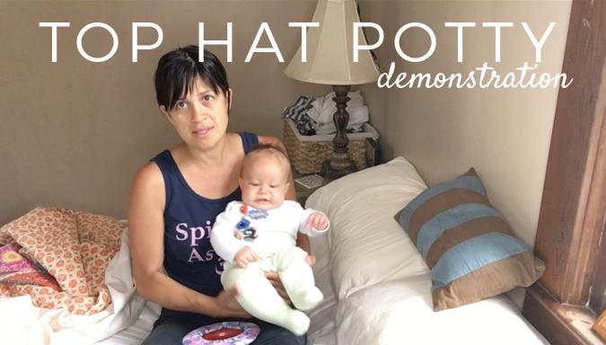 top hat potty demonstration