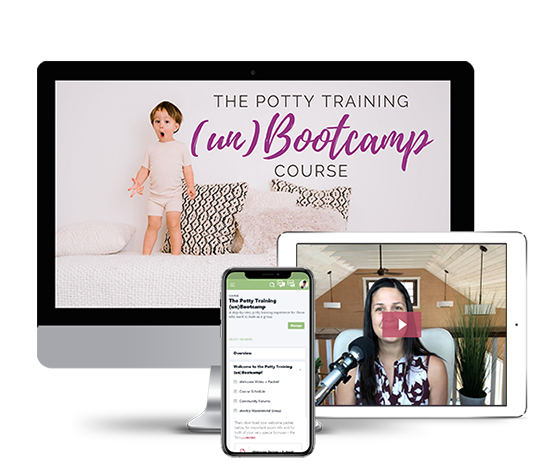 A step-by-step potty training experience for those who want to train as a group